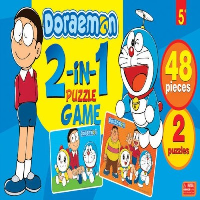BPI DORAEMON 2 IN 1 PUZZLE GAME-4626---