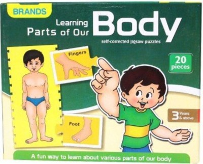 Bharat Learning Parts of Our Body