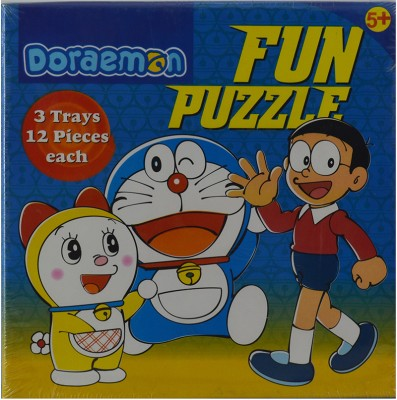 BPI Doraemon Fun Puzzle 3285 Kids Game