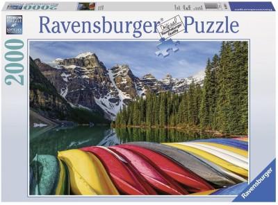 Ravensburger Mountain Canoes Jigsaw