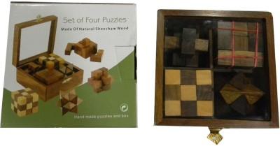 Ratnas Set Of Four Puzzle G-115