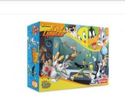Warner Brothers Looney Tunes Turbo Charged 104 Pcs Puzzle