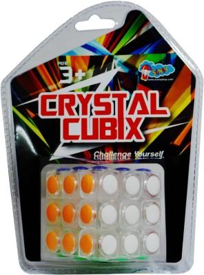 Sunny White Crystal Cubix