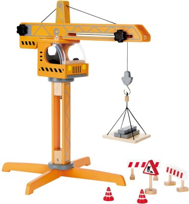 Hape International Hape Playscapes - Crane Lift Playset