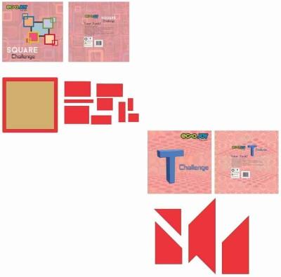 EcoJoy T Puzzle Square Puzzle