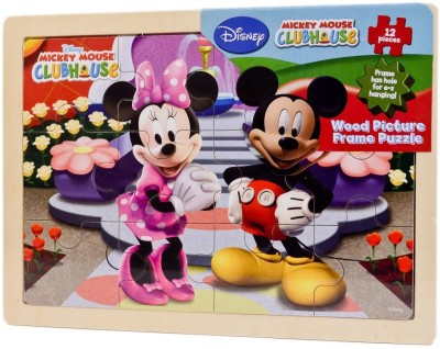 Disney Mickey Mouse Clubhouse Wood Picture Frame Puzzle
