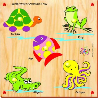 Kinder Creative Junior Water Animals with Knobs