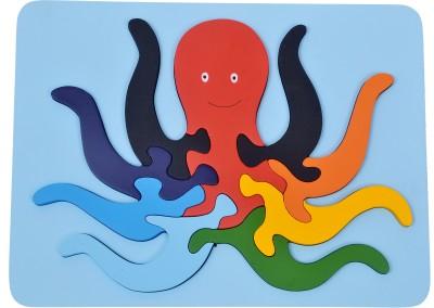 wood o plast Octopus Raised Puzzle Tray