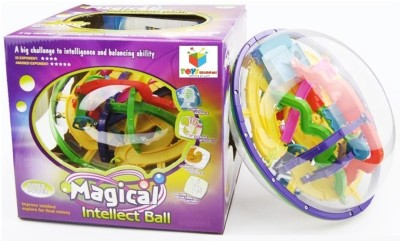Toys Bhoomi 208 Steps 3D Magic Intellect Maze Ball Educational Puzzle Game