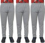 Shaun Solid Men's Grey Track Pants