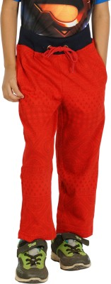 Shaun Solid Men's Red Track Pants