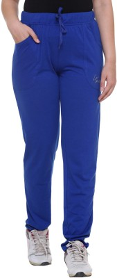 IN Love Solid Women's Blue Track Pants