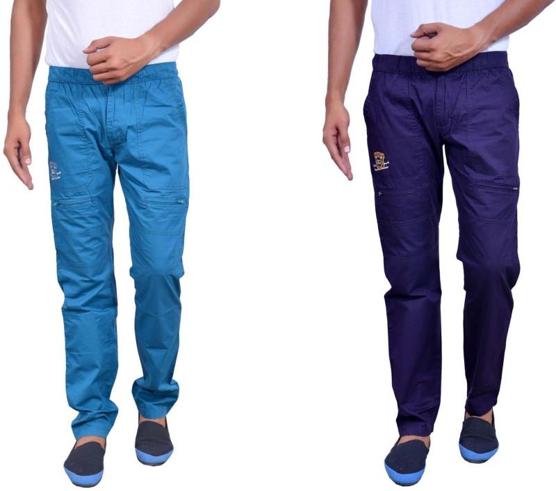 Actistud Men's Cargo Track Pyjama(Pack of 2)
