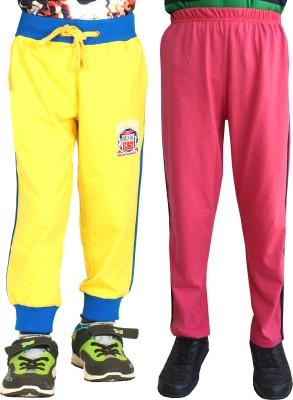 Shaun Track Pant For Girls(Yellow)