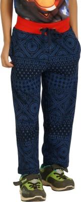 Shaun Solid Men's Dark Blue Track Pants