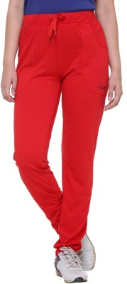 IN Love Solid Women's Red Track Pants
