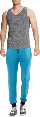RIPR Self Design Men's Blue Track Pants