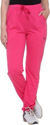 IN Love Solid Women's Pink Track Pants