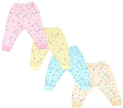 NammaBaby Baby Girls Pyjama(Pack of 4)
