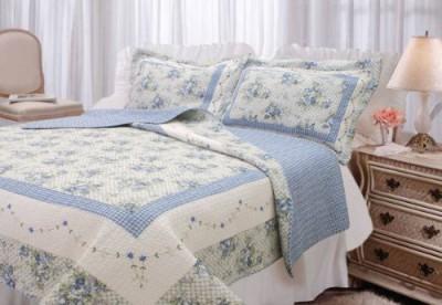 Textiles Plus, Inc. Trellis Blue Batting