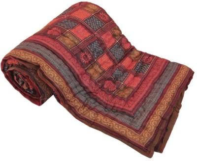 Textile India Geometric Double Quilts & Comforters Multicolor