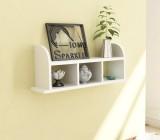 Home Sparkle Straight MDF Wall Shelf (Nu...