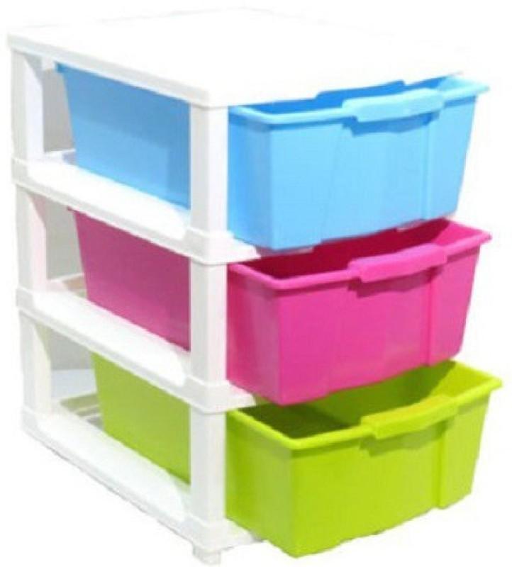 Aristo Houseware Plastic Wall Shelf(Number of Shelves - 3)