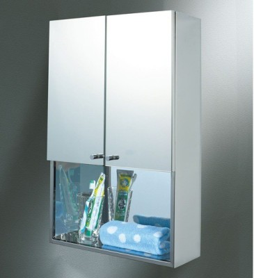 Jj Sanitaryware Lena Stainless Steel Wall Shelf