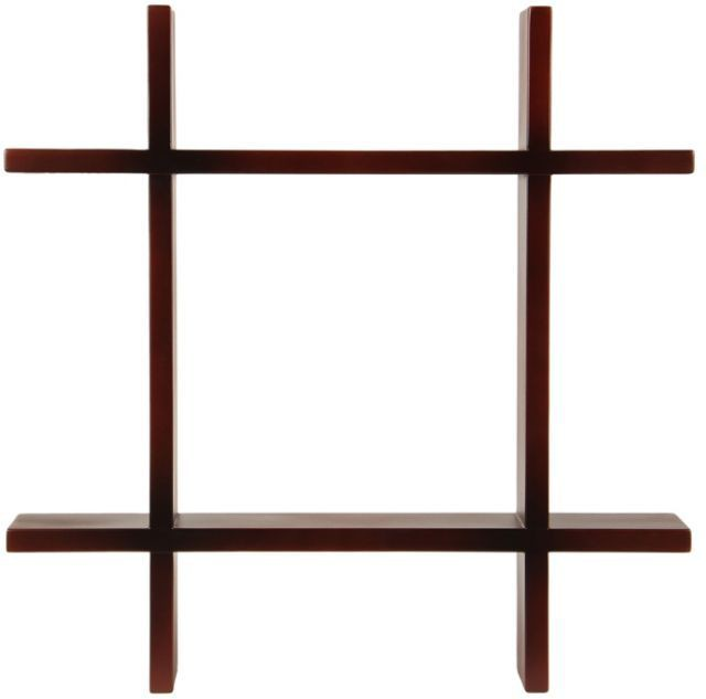 View Amour BS021 Wooden Wall Shelf(Number of Shelves - 1, Brown) Furniture (Amour)