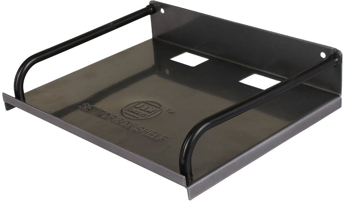 View GoodsBazaar Iron Wall Shelf(Number of Shelves - 1, Black) Furniture (GoodsBazaar)