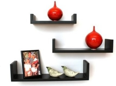 Arsalan Design Yourself Masterpeice Wooden Wall Shelf(Number of Shelves - 3)