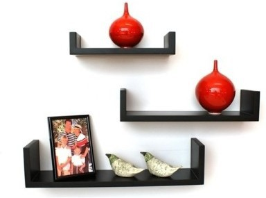 View Arsalan Design Yourself Masterpeice Wooden Wall Shelf(Number of Shelves - 3) Furniture (Arsalan)