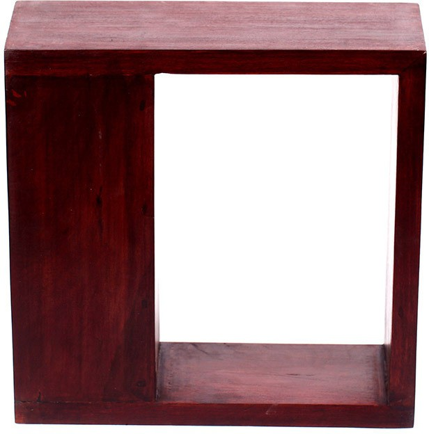 View Amey Wooden Wall Shelf(Number of Shelves - 1, Brown) Price Online(Amey)