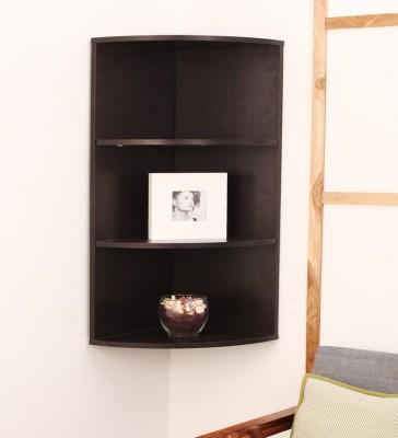 CORIAN POINT Wooden Wall Shelf