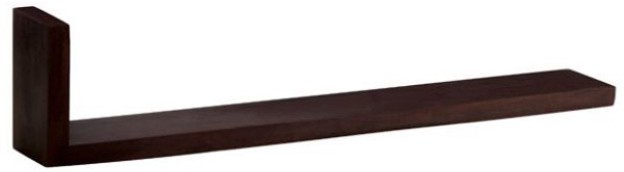 View Amour BS023 Wooden Wall Shelf(Number of Shelves - 1, Brown) Furniture (Amour)