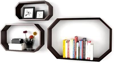 Rahkri RKWDS-07 Wooden Wall Shelf