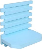 Onlineshoppee AFR999 Wooden Wall Shelf(Number of Shelves - 1, Blue)