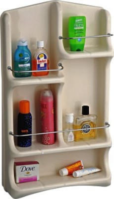 Cipla Plast Oasis Bath Shelf Plastic Wall Shelf