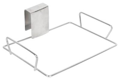 Sakshi Enterprises Hanging Bin Holder Stainless Steel Wall Shelf(Number of Shelves - 1)