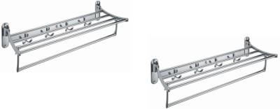 BM BELMONTE Stainless Steel Wall Shelf
