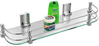 royaL indian craft 12 By 5 Inch Glass Wall Shelf