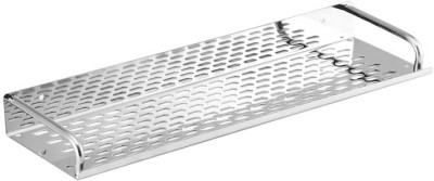 Zahab Steel Bathroom Shelve 16 Inch Stainless Steel Wall Shelf