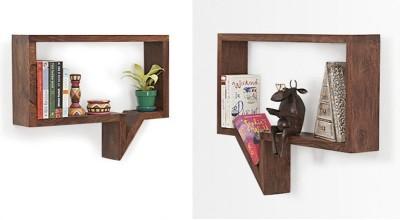Decoriee DR-WS15 Wooden Wall Shelf