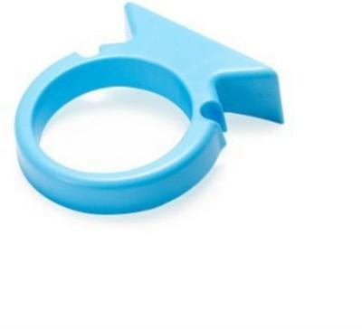 Shrih Bathroom Mounted Hair Dryer Holder Plastic Wall Shelf(Number of Shelves - 1, Blue)