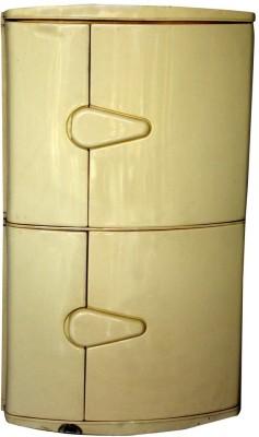 Hallmarc Plastic Bathroom Corner Cabinet Plastic Wall Shelf