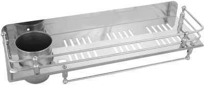 arsh plast ind Stainless Steel Wall Shelf