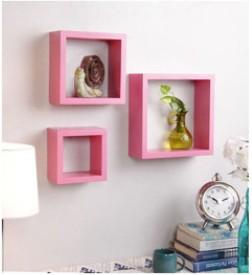 huzain handicrafts MDF Wall Shelf(Number of Shelves - 3)