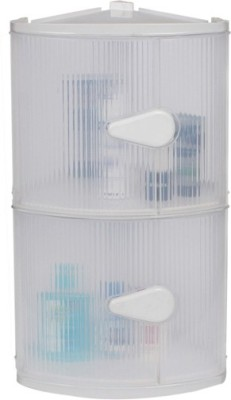 Cipla Plast MP3 Bathroom Cabinet Plastic Wall Shelf