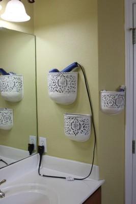 The New Look 3 Bathroom Racks Iron Wall Shelf