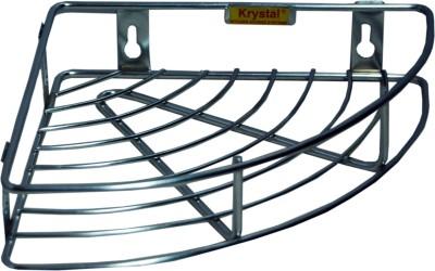 Krystal Stainless Steel Wall Shelf